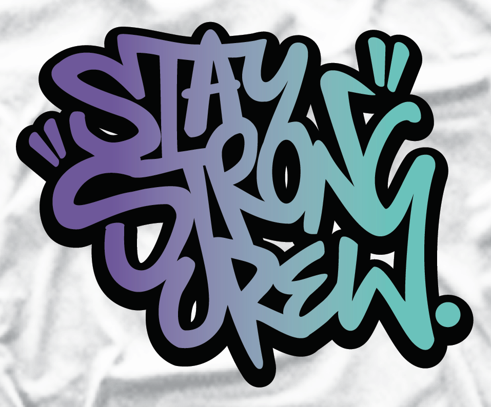 Stay Strong Crew Tag Tee