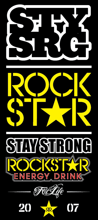 Stay Strong X Rockstar Collab