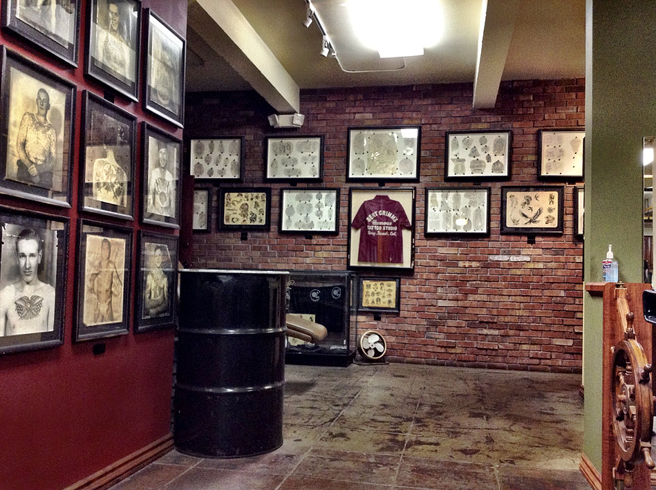 Outer limits tattoo long beach for Tattoo shops in long beach