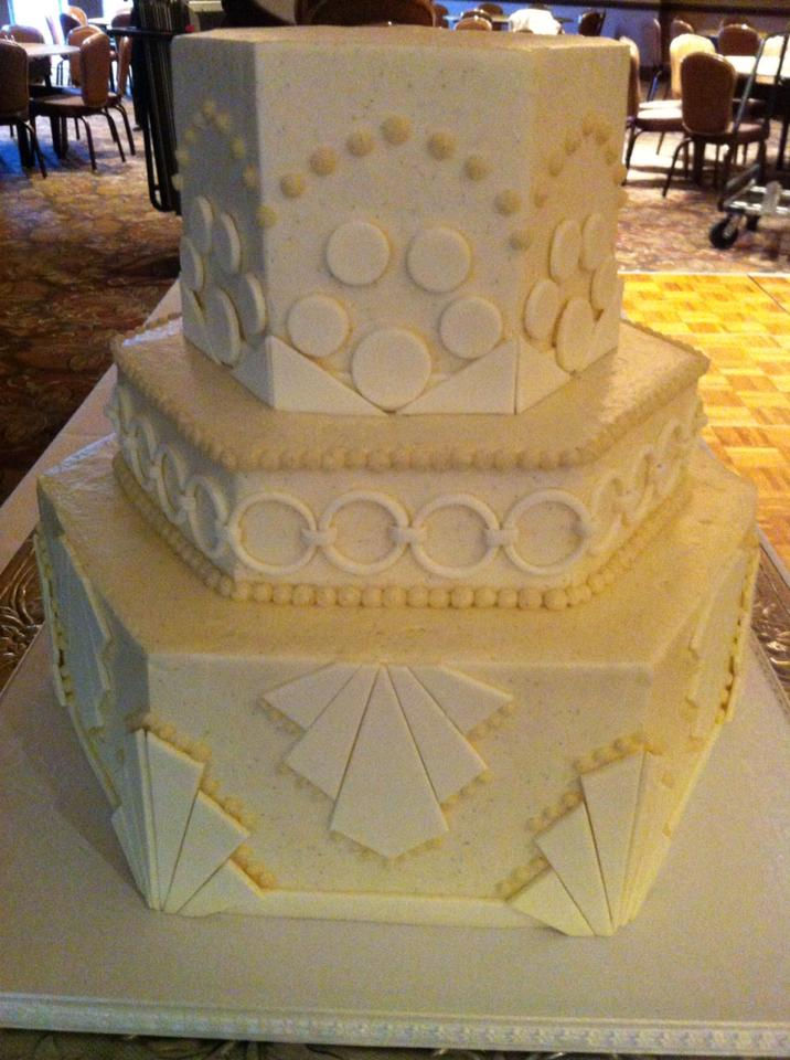 Art Deco Roll Cake : Dessert Menu - Wedding Cakes, Fondant Cakes, Cupcakes ...