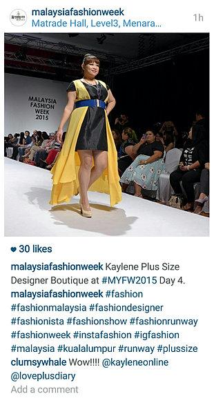 plus size dress malaysia hall