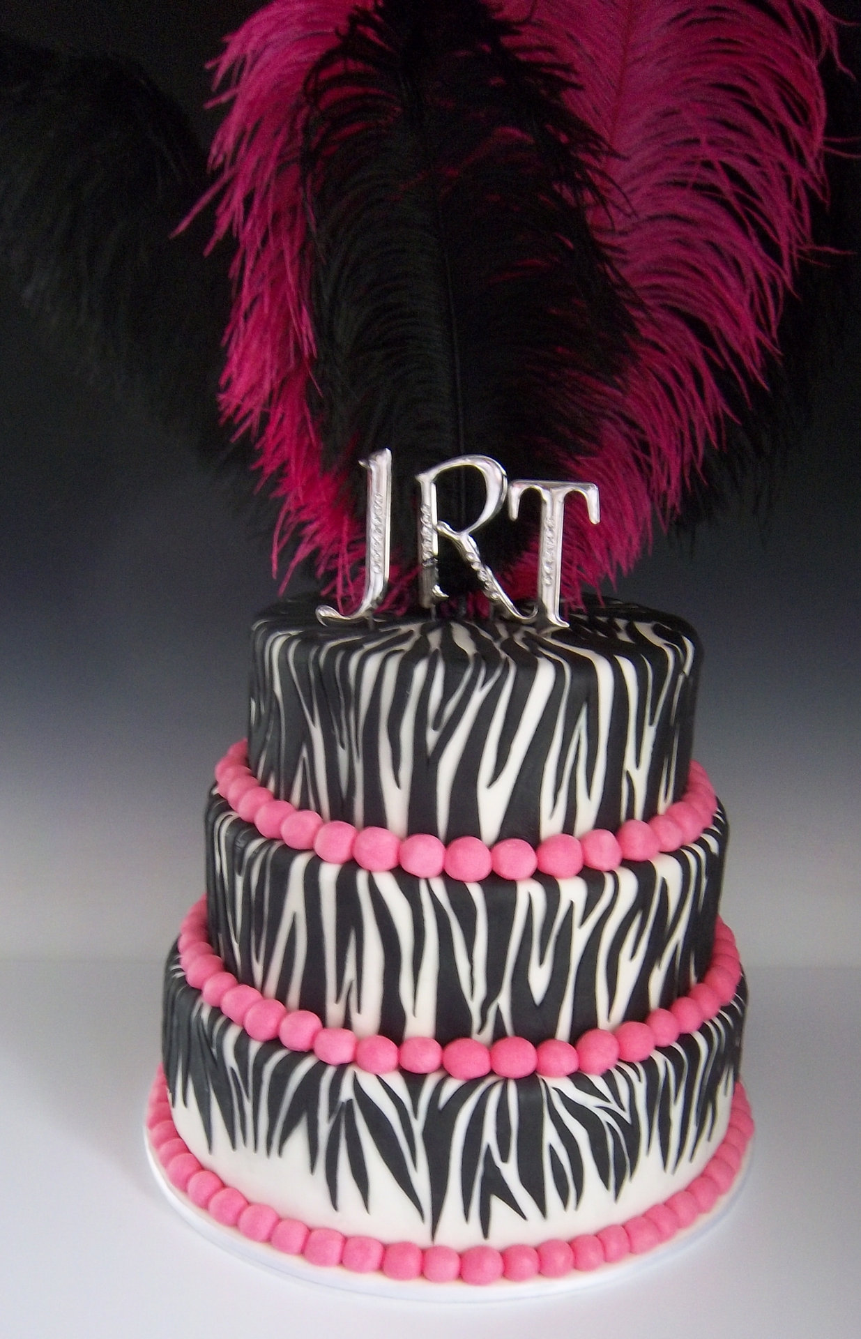 Just cake that zebra wedding cake junglespirit Gallery