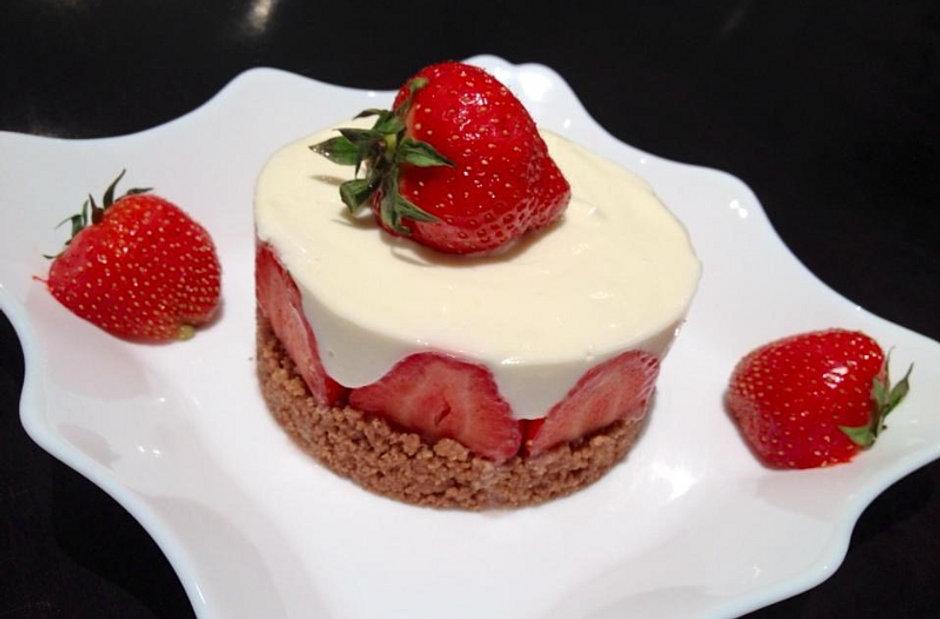 Dessert A Base De Fraises