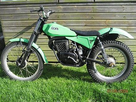 Classic Trials GB Moto Gori