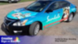 175 Full Car Wrap Vinyl Graphics Logo Ad