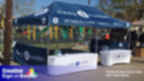 153 Custom Event Tent by Creative Sign a