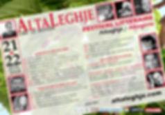 Le festival littéraire #4 / Corse-du-Sud - Alta Rocca - Altagène / AltaLeghje 2018