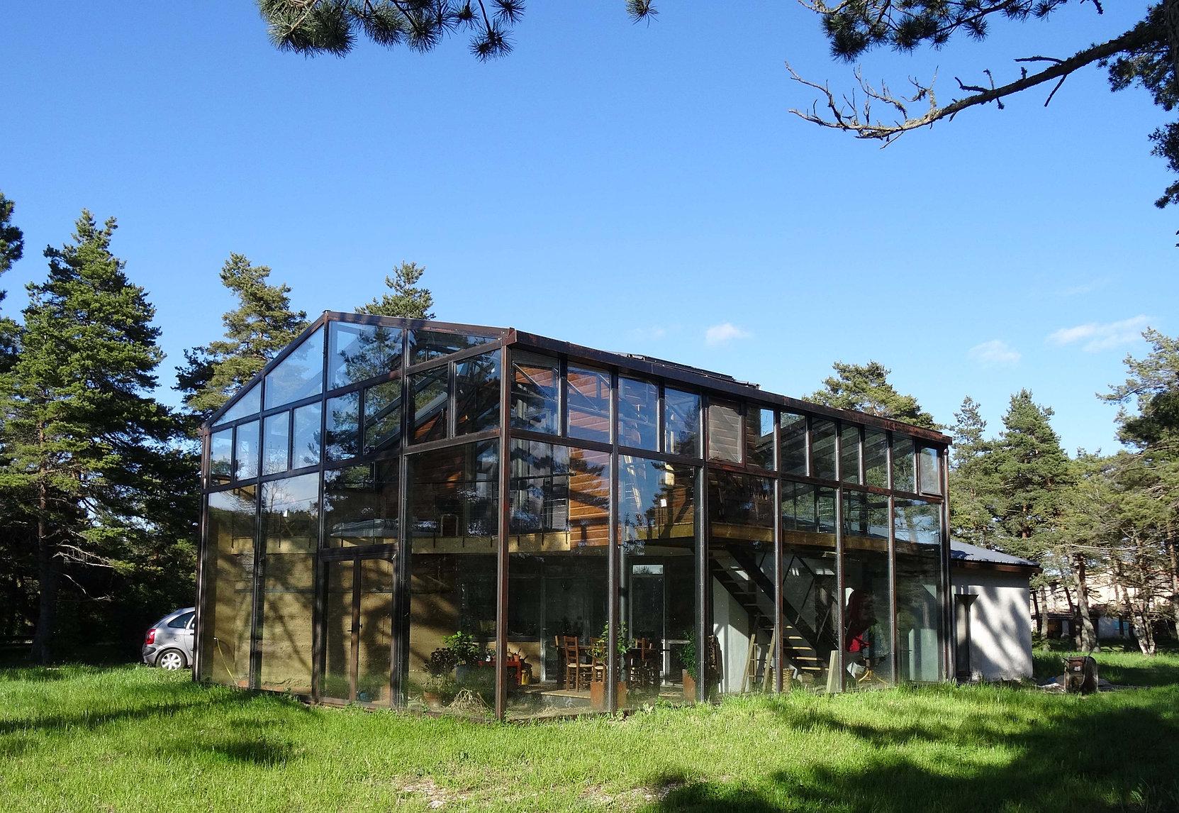conception construction maison bois écologique bioclimatique gard ...
