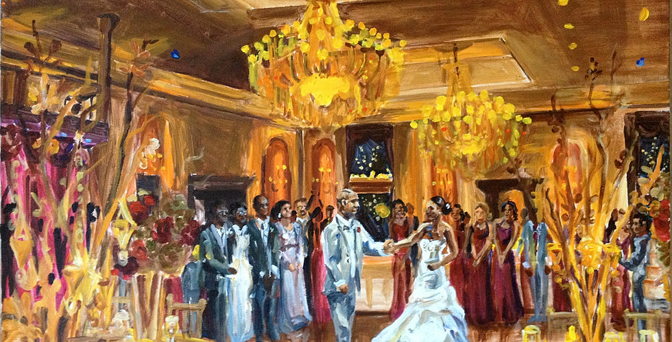 Event Painting By Katherine P O R T F O L I O