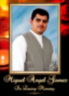 Miguel Angel Gomez Memorial Website Tribute