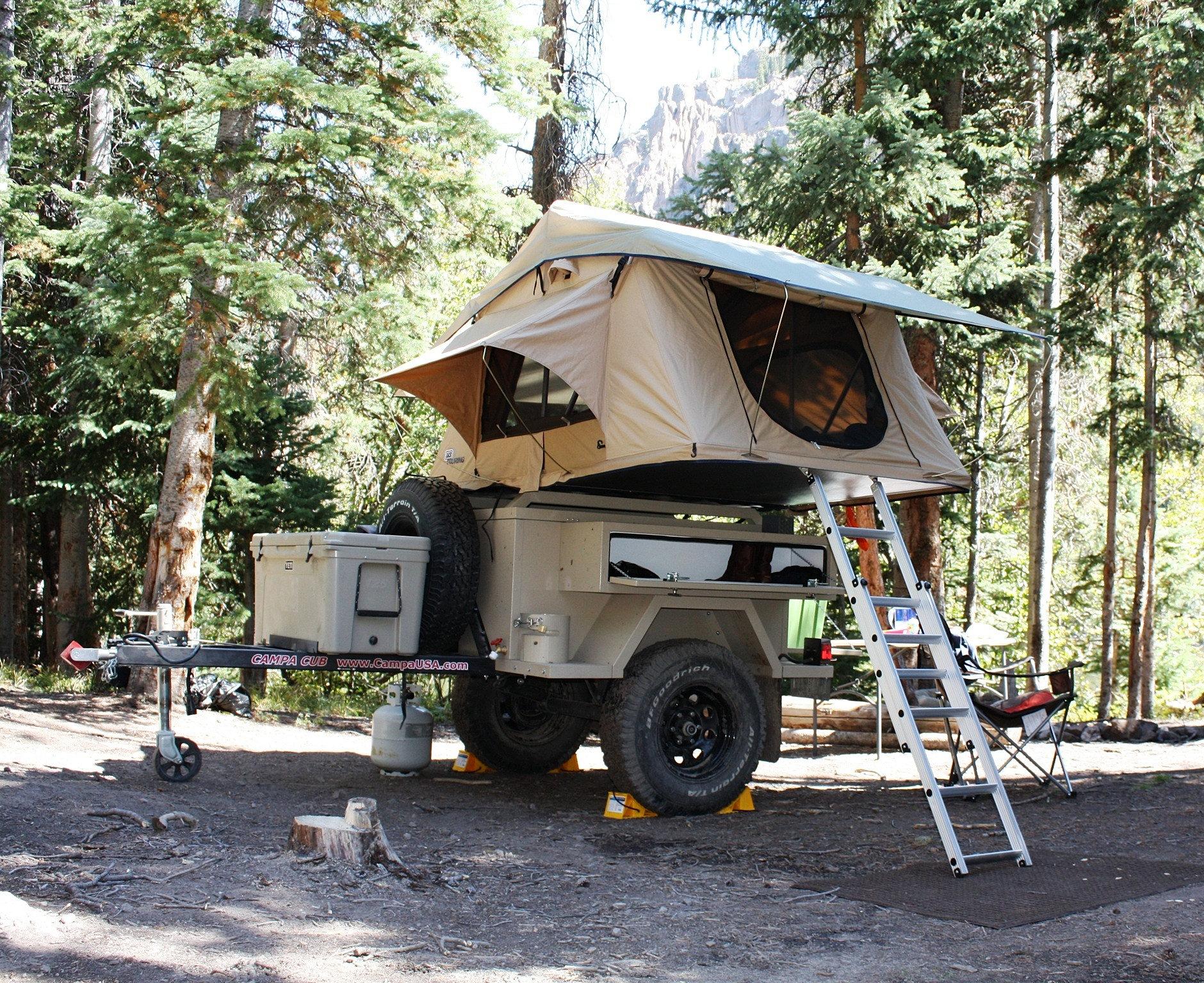 Cool PahaQue Custom Shop Custom C&er Tent Solutions Made In USA & 22 Luxury Camper Trailer Tent Usa   fakrub.com