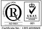 WCS ISO9001 logo on www.ekspan.com