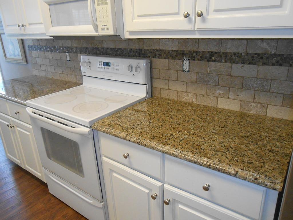 Venetian Gold Granite Kitchen Hardscape Contractor New Venetian Gold