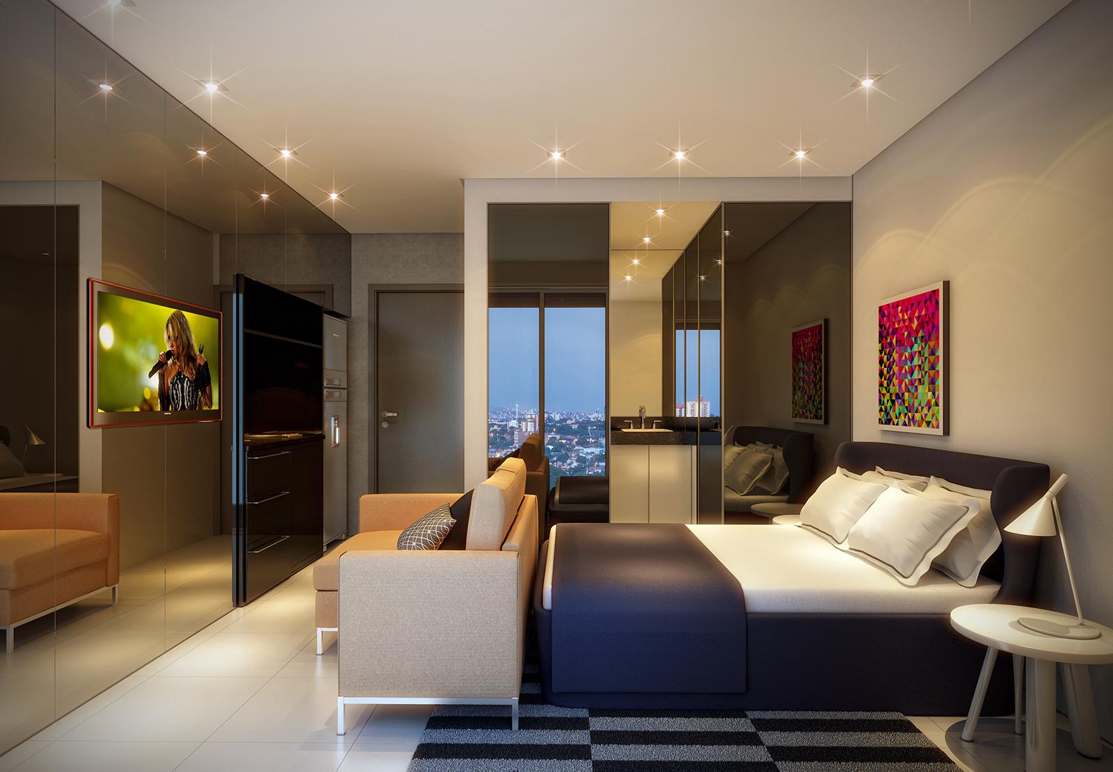 Preferência Tendência: Micro Apartamentos | Luciana Quirino Arquitetura e  FW62