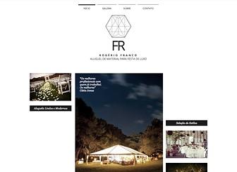 Aluguel de Material para Festa de Luxo Template - Um negócio de luxo merece um site luxuoso. Este template com design agradável e layout minimalista é perfeito para mostrar seus produtos e serviços. Comece a editar e crie um site incrível para seu negócio.
