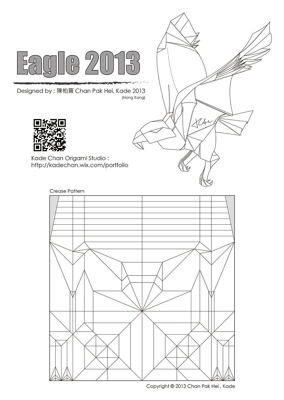 Crease Patterns Kade Chan Origami Studio Hong Kong