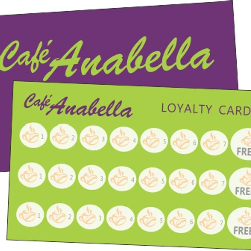 Business cards pialba tearoom design print loyalty business card for stamping colourmoves
