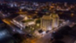 Magnolia Silos lighting by GGA Waco Texa