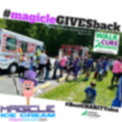 Magicle Ice Cream truck at a corporate event staff appreciation event. Ice Cream Truck rental. NJ Ice Cream Truck rental. Ice Cream Social. #MaicleStudentDay #BestCollegeidea, #TeacheApprecitionday,#MagicleTeacherday #Maiclegivesback #Bestcharityidea