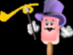 Magicle Ice Cream mascot