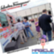 Magicle Ice Cream truck at a corporate event staff appreciation event. Ice Cream Truck rental. NJ Ice Cream Truck rental. Ice Cream Social. #BestCorporateidea #MagicleStaffDay
