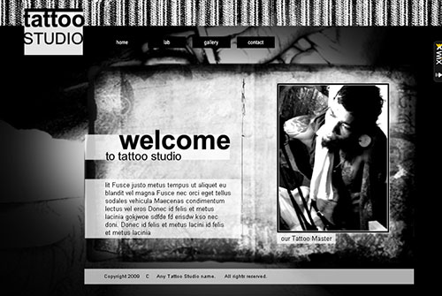 Alternative Com Template - This beautiful Black and White Website is designed to showcase and sell your best Photography creations. With no downloads and programming needed, high quality professional galleries and an easy to customize layout this design is waiting to present your personal and professional presence to the world