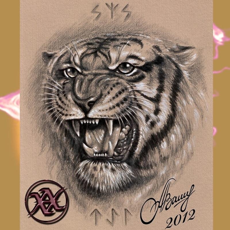 Татуировка оскал тигра - значение
