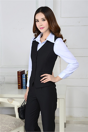 Uniformes administrativos sastres para dama dise os modernos Diseno de uniformes para oficina 2017