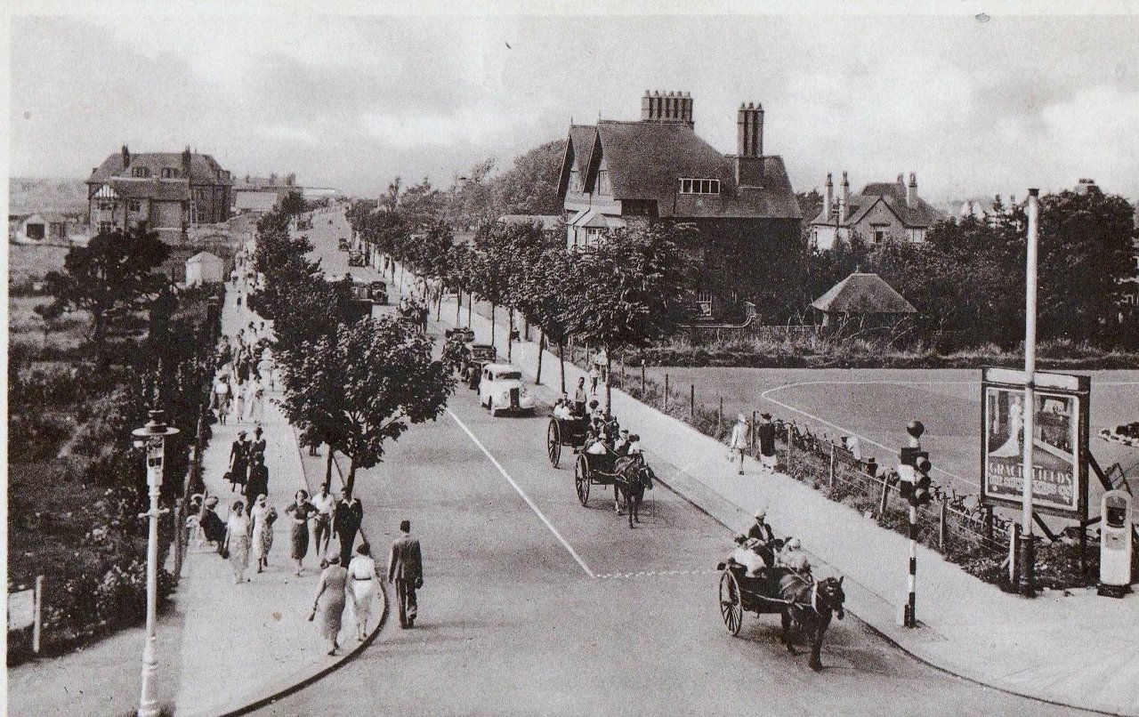 Bastion Road c1930's