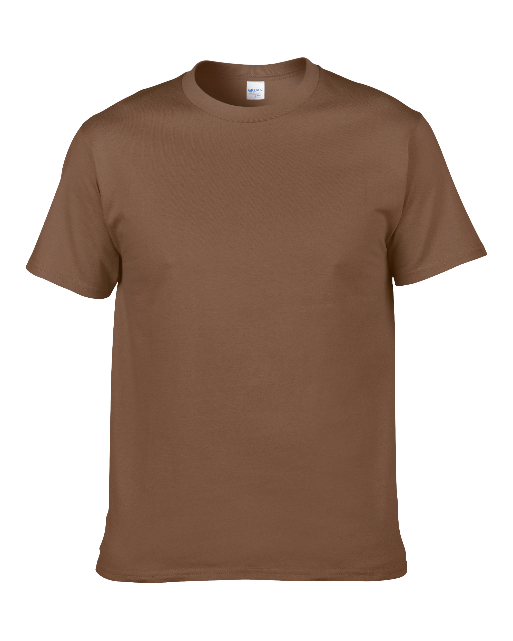 T shirt design kuala lumpur -  Gildan 76000 Premium Cotton T Shirt Chestnut 3 Celebratee No 1