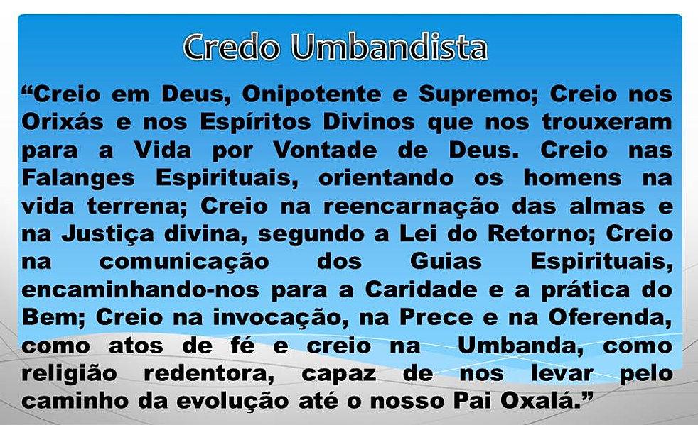 Conhecido CUUCA Centro de Umbanda Universalista Caboclos de Aruanda | Credo  XK44