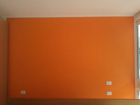 Pareti Camera Da Letto Arancione