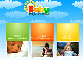 My First Album Template - Proud parents will love this website template. Share your most precious memories by creating a family themed website using this unique Wix design. Edit it with videos, images and anything else you want to share.
