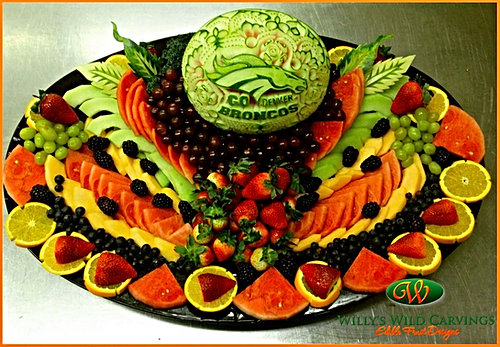 Grand Junction Co Edible Fruit Designs Culinary Carvings