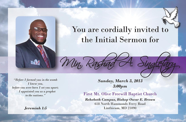 Invitation Flyer as nice invitations layout