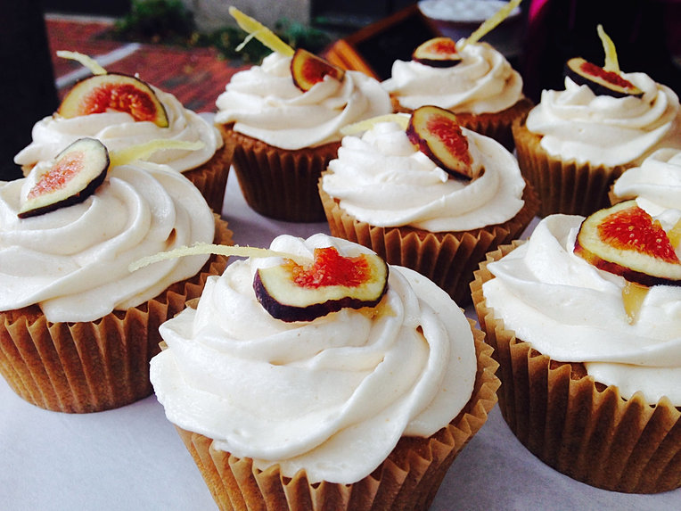 Fresh Ginger Cupcakes Recipes — Dishmaps