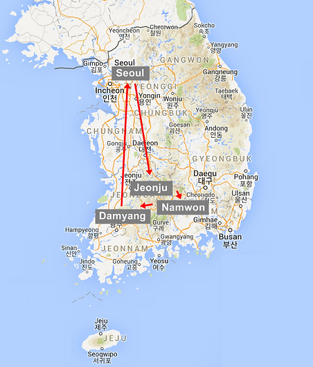 2D1N Jeonju Hanok Village Namwon Damyang Package Tour