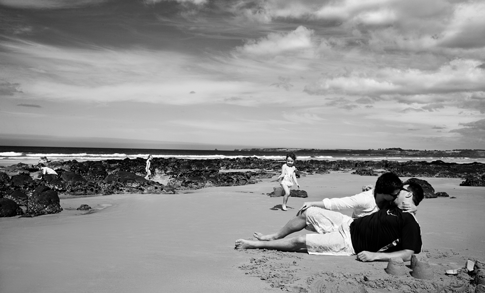 Family potrait nude photography