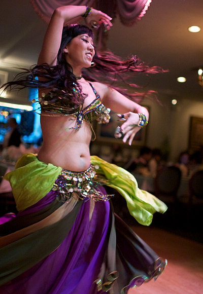 Jillian can be seen frequently at these venues for Arya global cuisine redwood city