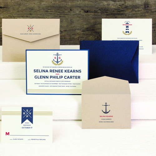Anchor LighthouseGenuine Impressions   Wedding Invitations   Envelopments Wedding  . Envelopments Wedding Invitations. Home Design Ideas