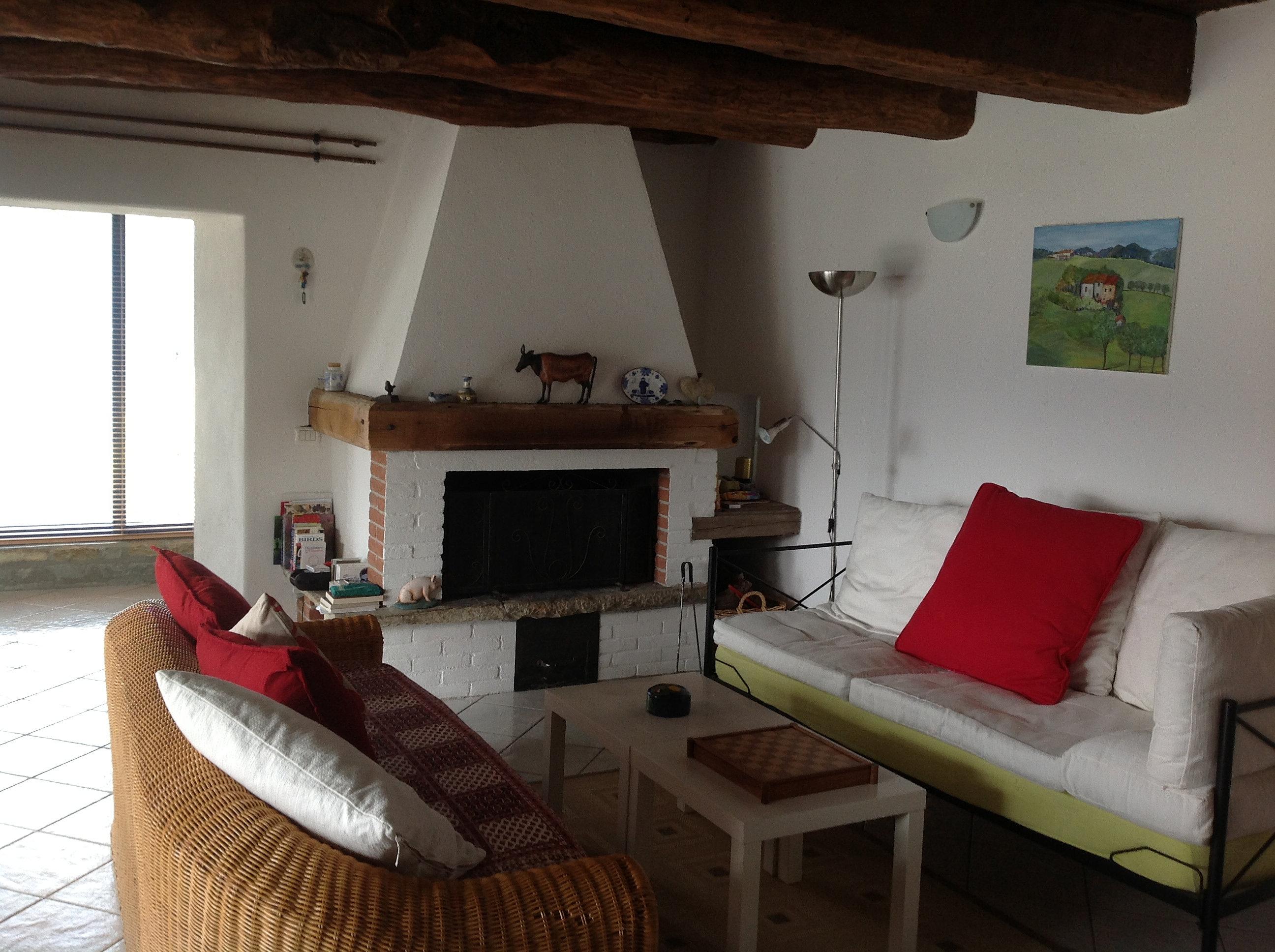 ferienhaus-piemont | das wohnzimmer