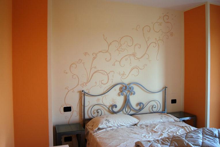 L arte di cristina lorandi cristina pittura e decorazione a brescia galleria - Camera da letto in francese ...