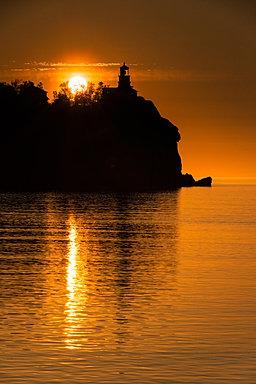 Split Rock Sunrise