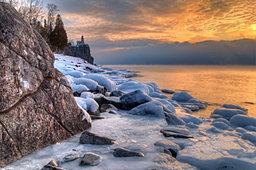 Split Rock on Ice