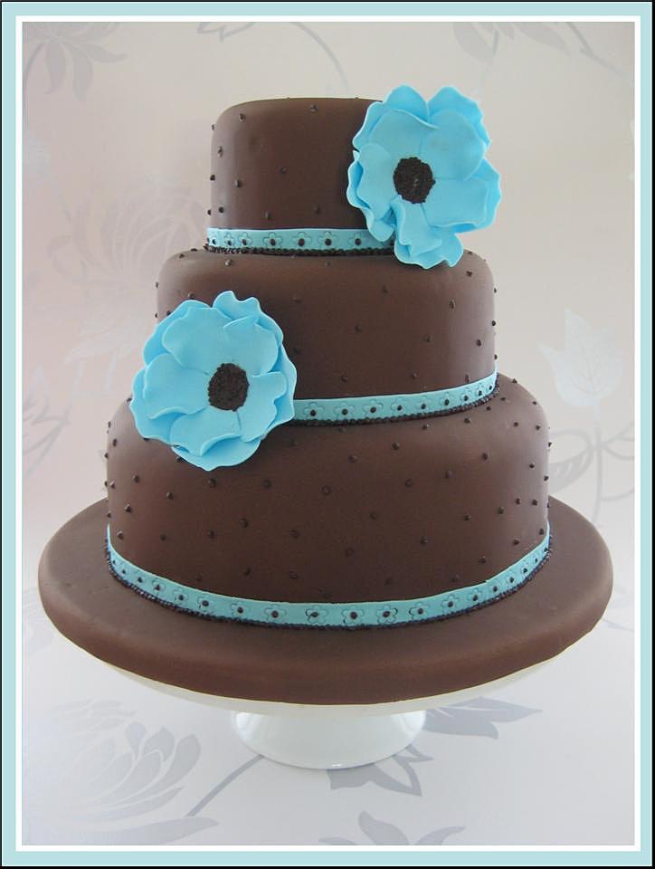 Permalink to Chocolate Wedding Cake
