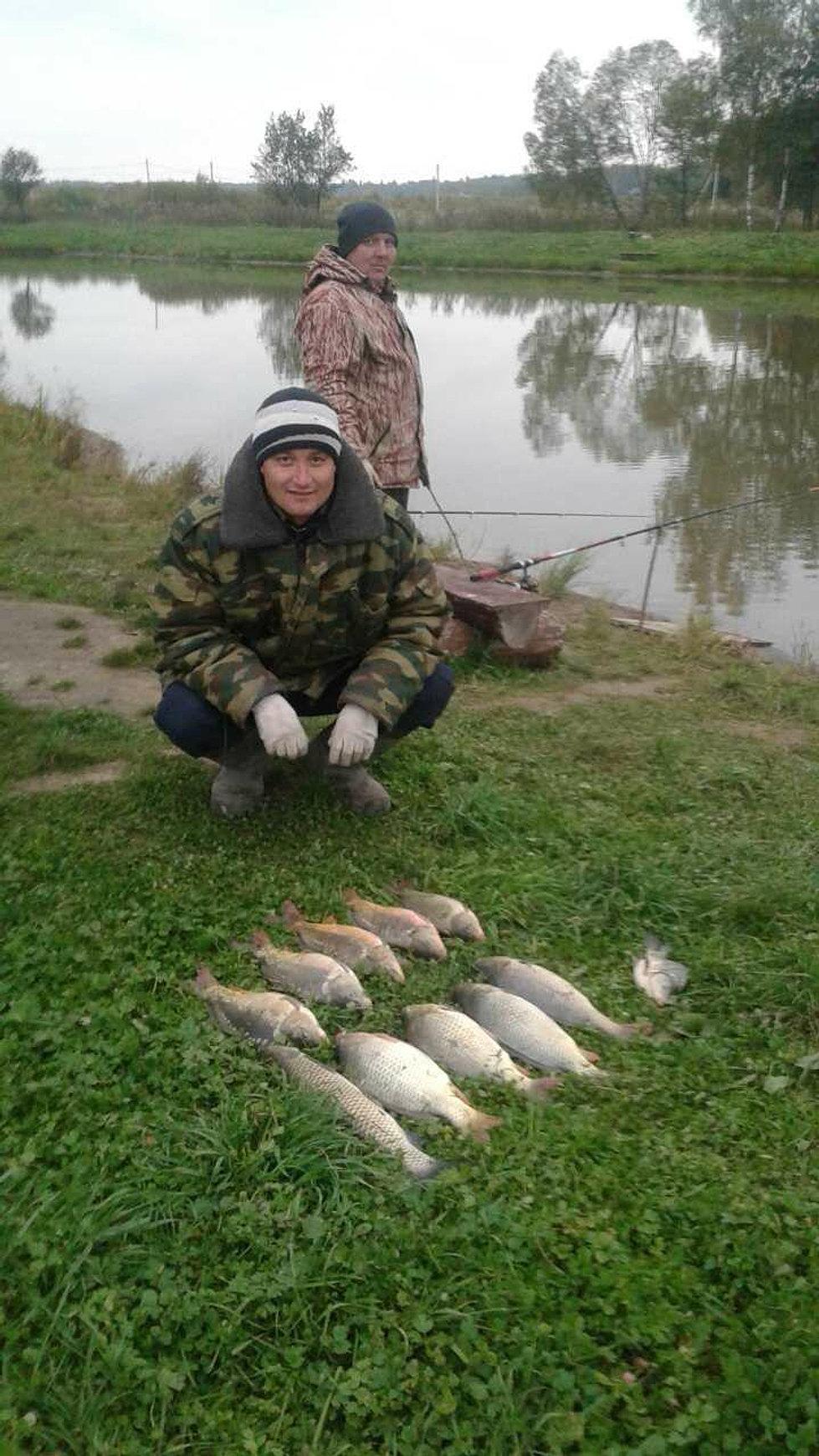 Платная рыбалка в отрадненском районе