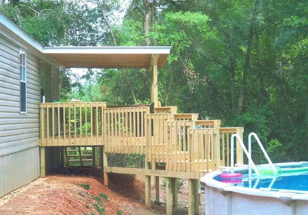 Mobile Homes Porches And Decks Joy Studio Design Gallery
