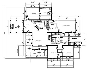 30 X 60 Mobile Home Floor Plans Joy Studio Design