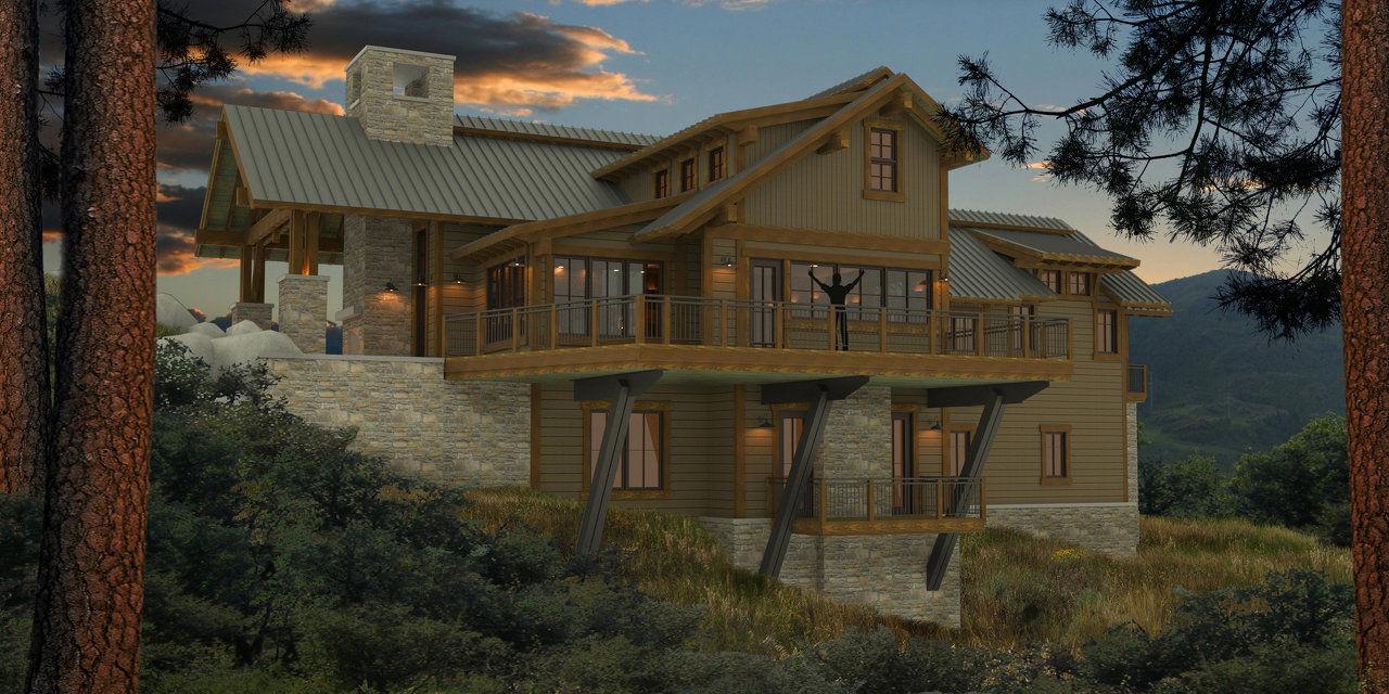 Stuart Arc Steamboat Springs Architect Colorado Home