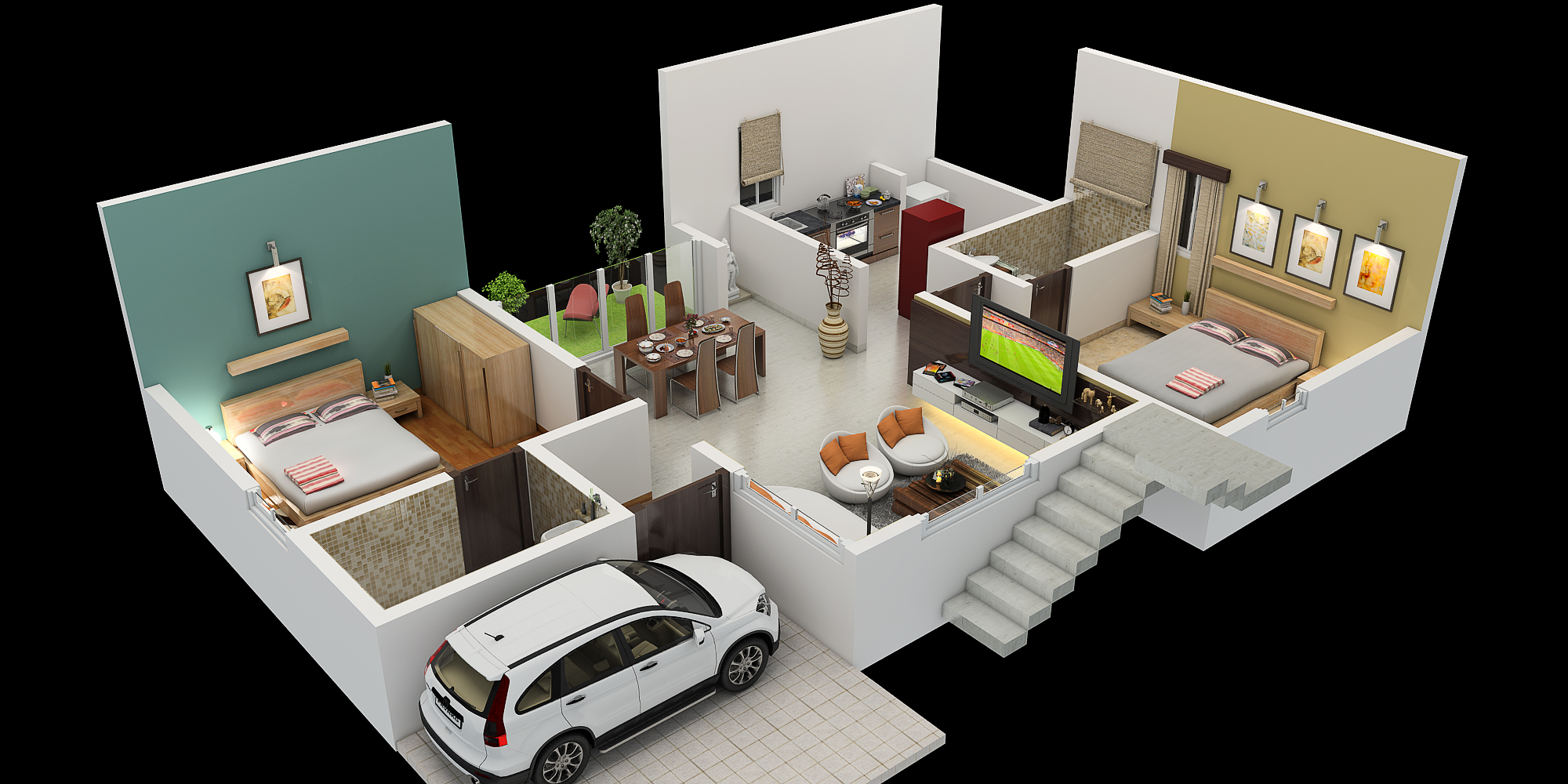 Nirantara housing 30 x 40 south facing for Home design 40 40